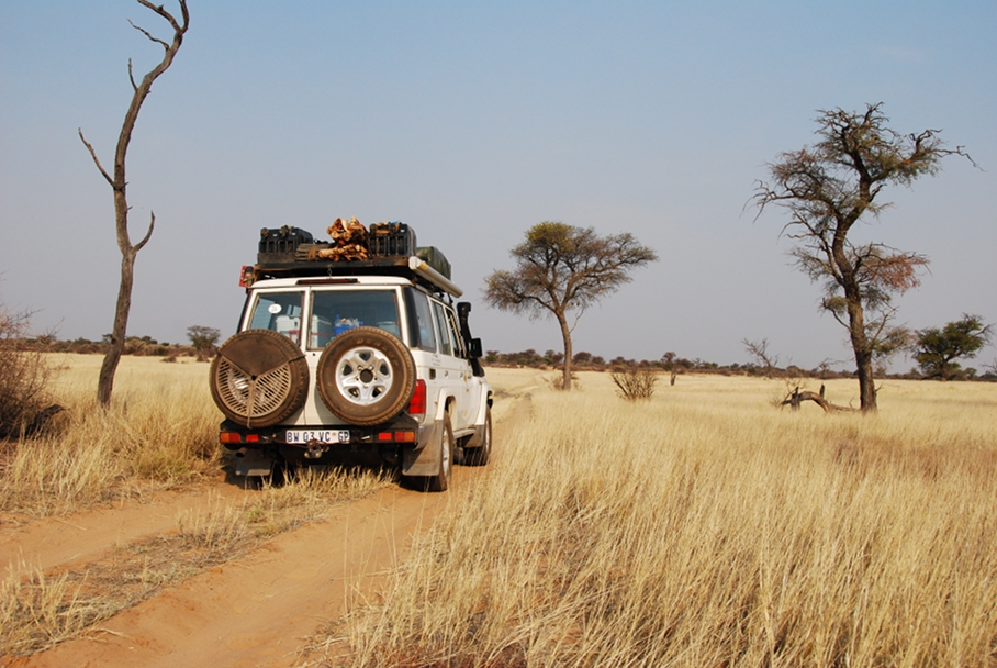 Transfrontier National Park, Botswana Section, Kaa Wilderness Trail