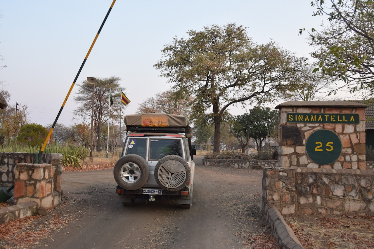 Hwange National Park ingresso a Sinamatella Camp