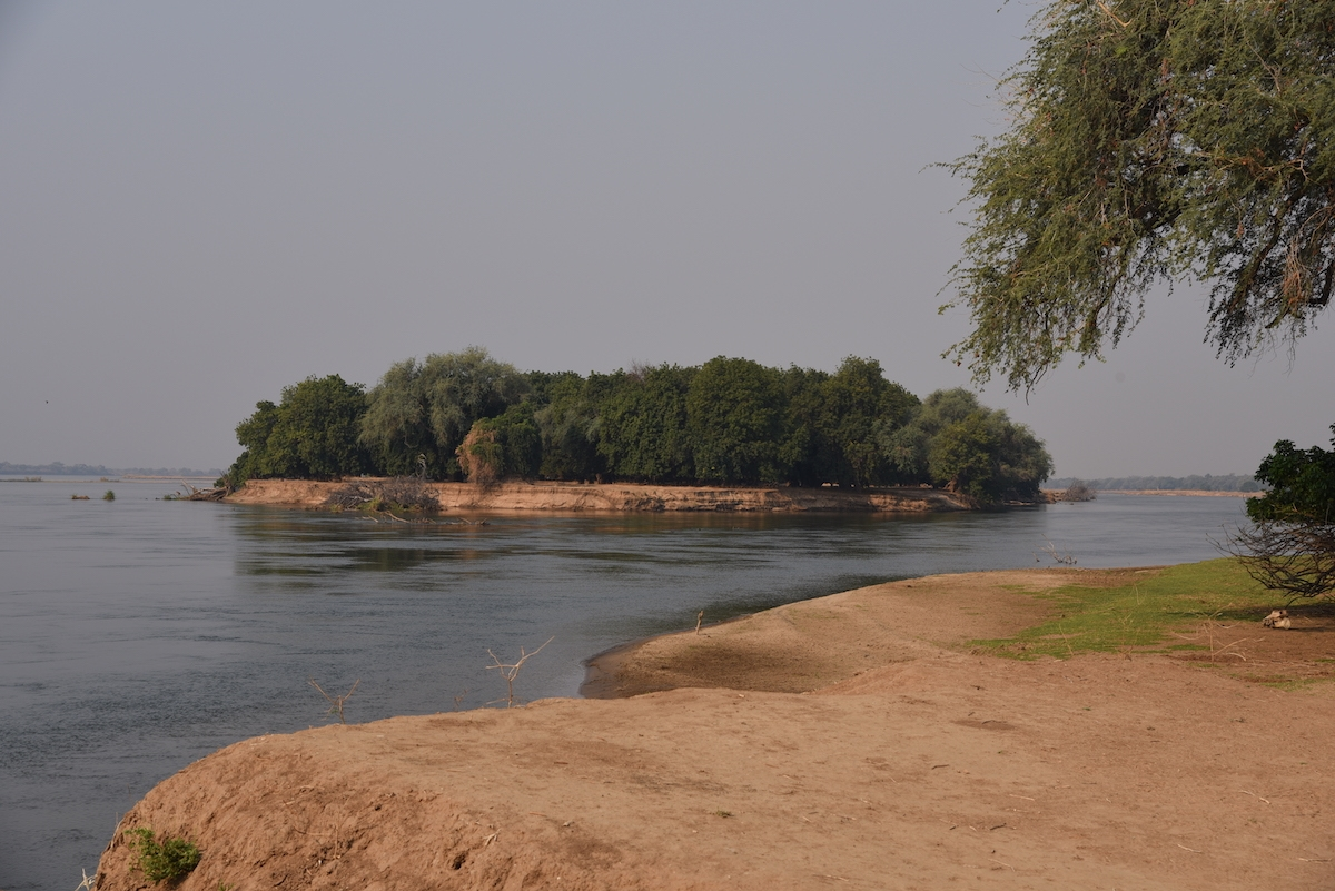 Zambesi River from Mana Pools National Park
