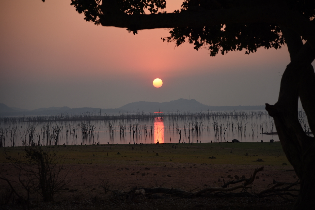 Matusadona National Park, sunset in Kariba Lake